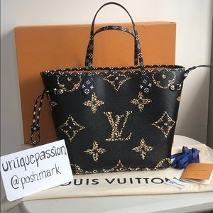 Louis Vuitton Jungle Giant Neverfull MM